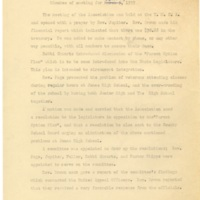 Minutes of Monthly Meeting, April 2, 1959