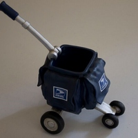 Mail Satchel Cart