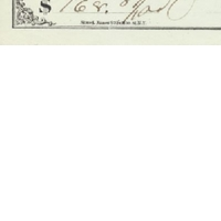 Personal Check from Edwin G. Eastman Paid to Self (May 23, 1871)