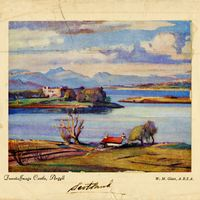 Dunstaffnage Castle, Argyll Postcard