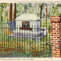 The Tomb of Francis Marion Postcard