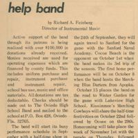 Patron Donations Help Band