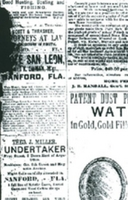 The South Florida Argus Advertisements (January 3, 1886)