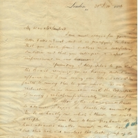Letter from Edwyn Sandys Dawes to Henry Shelton Sanford (December 31, 1884)