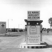 Main Gate at Naval Auxiliary Air Station Sanford