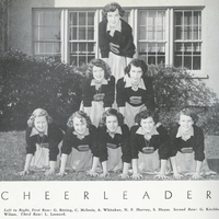 Seminole High School Cheerleaders, 1952