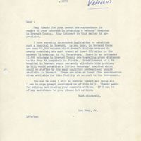 Letter Template from Representative Louis Frey, Jr., 1972