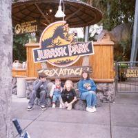Jurassic Park T-Rex Attack at Universal Studios Florida, 1997
