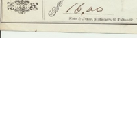 Personal Check from Edwin G. Eastman to Jacob Brock (June 6, 1871)