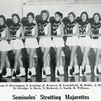 Seminole High School Strutting Majorettes