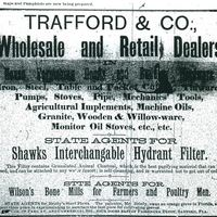 Trafford and Company Advertisement