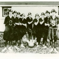 Sanford High School Girls Basketball Team, 1920