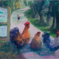 Oviedo Chickens by Bettye Reagan
