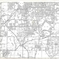 Grid Map of Unincorporated Communities South of Orlando
