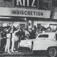 Filming at the Ritz Theater