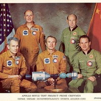 Apollo Soyuz Test Project Prime Crewmen