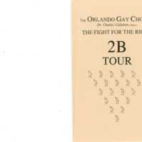 The Fight for the Right 2B Tour, April 9, 1994