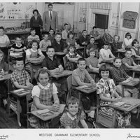 Westside Grammar Elementary School Fourth Grade Class, 1963-1964