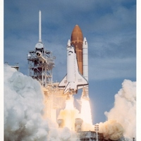 Space Shuttle Discovery Launch for STS-26