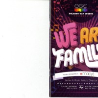 We Are Family, May 14 & 15, 2016