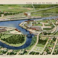 Turning Basin and Port Houston Postcard