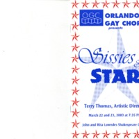 Sissies & Stars, March 22 & 23, 2003