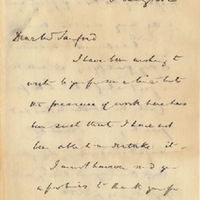 Letter from Edwyn Sandys Dawes to Henry Shelton Sanford (January 5, 1882)