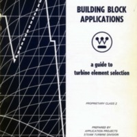 Building Block Applications: A Guide to Turbine Element Selection
