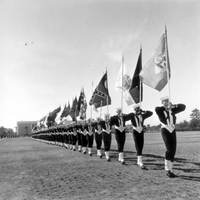 Flag Corps at the Orlando Naval Training Center
