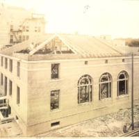 Construction of the Downtown Orlando Post Office, May 1917