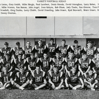 Lyman High School Greyhounds Varsity Football Squad, 1966