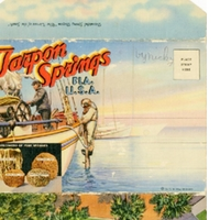 Tarpon Springs Postcard Booklet
