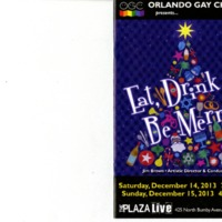 Eat, Drink & Be Merry, December 14 &15, 2013