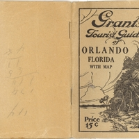 Grant's Tourist Guide of Orlando, Florida with Map