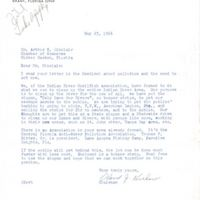 Letter from Oland J. Kershaw to Arthur W. Sinclair (May 23, 1966)