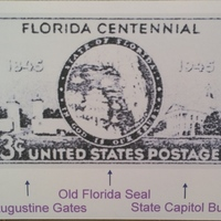 Florida Centennial Stamp