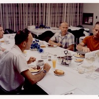 Apollo 11 Crew Breakfast at John F. Kennedy Space Center Before Flight