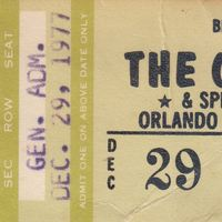 The Outlaws Ticket Stub