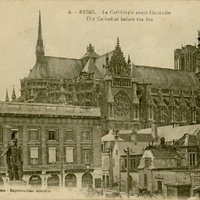 The Cathedral Before the Fire Postcard