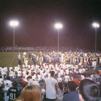 Lake Howell High School Marching Band with Tuskawilla Middle School Band, 1998