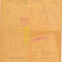 Sky Lake Plaza Site Plan, 1962