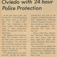 Oviedo with 24 Hour Police Protection