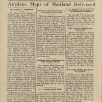 The Maitland News, Vol. 01, No. 10, July 10, 1926