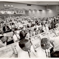 Launch Control Center During the Launch of Apollo 11