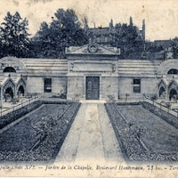 Terrace at the Chapel of Louis XVI Postcard