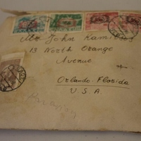 Envelope from Perrios Haedji to John Kamitsos