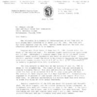 Letter from William E. Johnson to Dennis Holcomb (July7, 1981)