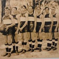 St. Joseph's Academy Boys Basketball Team, 1929