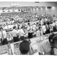 Launch Control Center During a Skylab Launch