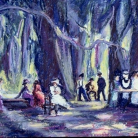 Meads Woods Picnic No. 2 by Bettye Reagan